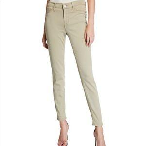 Hudson Natalie Mid -Rise Skinny Jeans